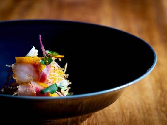 Luxebible Loves Jason Atherton's New Restaurant Sosharu: Bream, Sashimi, Shichimi Crispy Potato