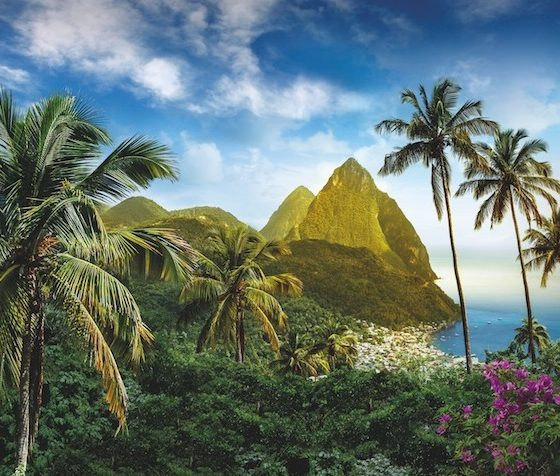 Luxe Bible Loves Saint Lucia: Pitons, View from Ladera Hotel