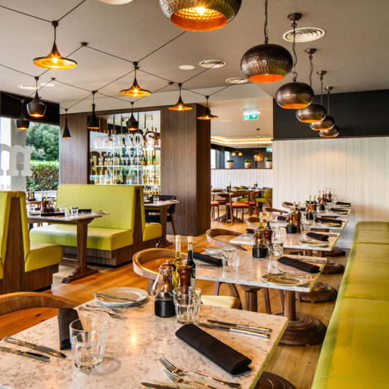 Marco's New York Italian by Marco Pierre White at Holiday Inn Milton Keynes: Interior