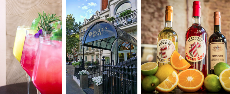 The Luxe Bible List of Where to Treat Mum this Mother's Day: Cocchi x Baglioni at The Baglioni Hotel