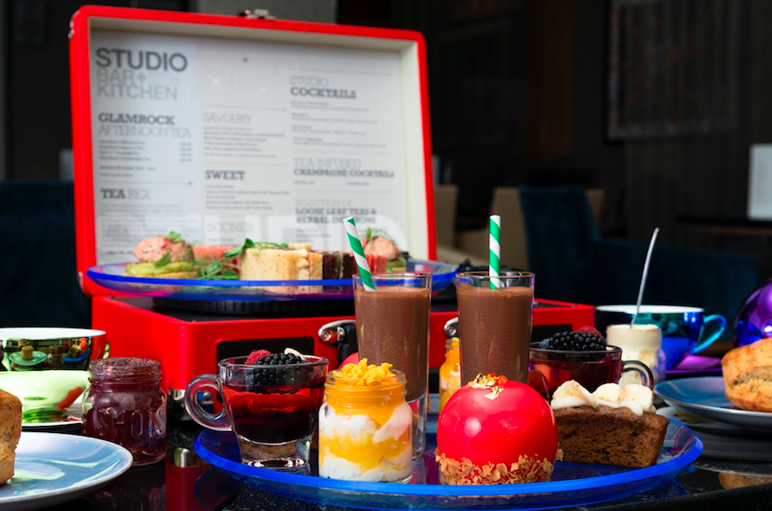 The Luxe Bible List of Where to Treat Mum this Mother's Day: Glam Rock Afternoon Tea at The K West Hotel & Spa
