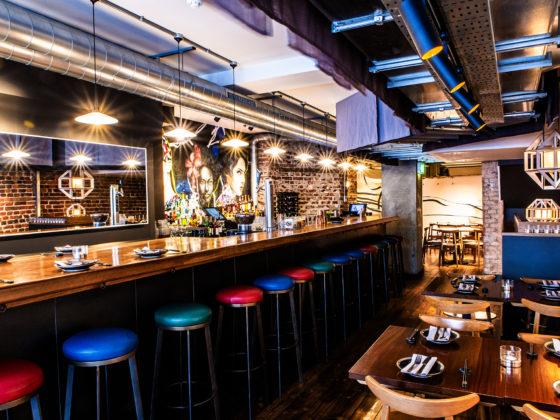 Get Ready to go Really Wild at Gamma Gamma Soho: Interior Central Bar