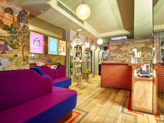 Browhaus Covent Garden - An Eye Opener! Reception Area