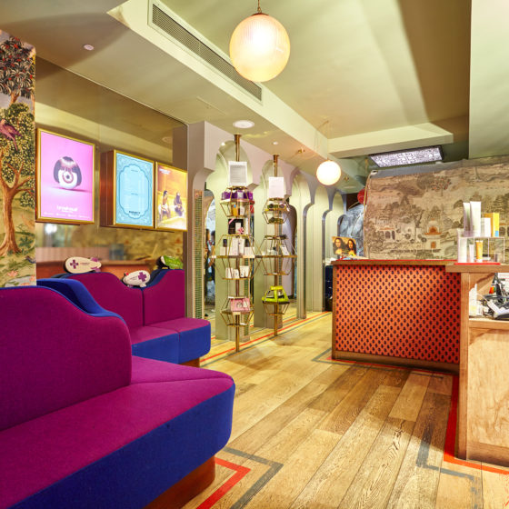Browhaus Covent Garden - An Eye Opener! Reception Area