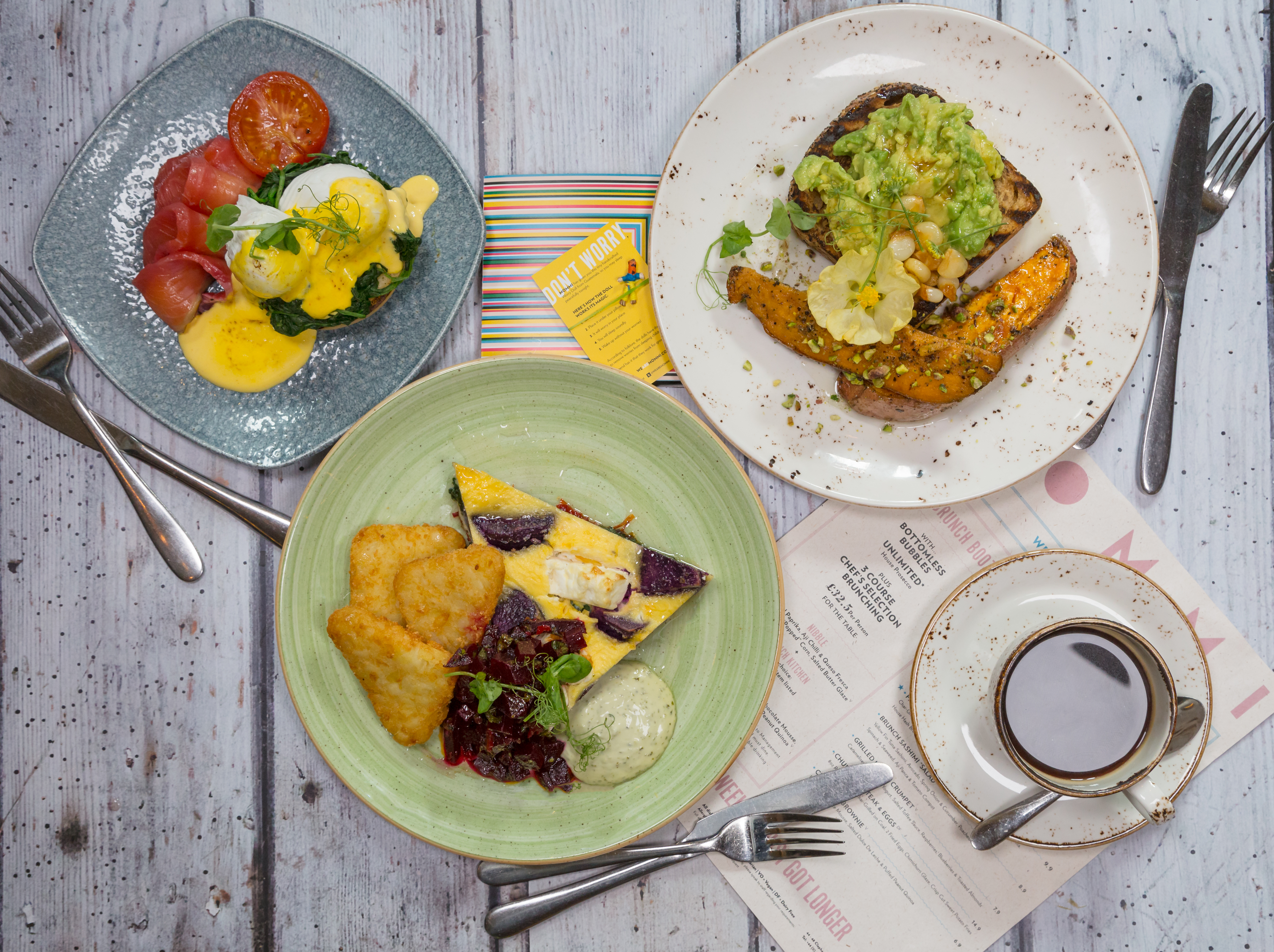 MOMMI - Boozy Bottomless Brunch (Power Ballads Included!) Food Selection