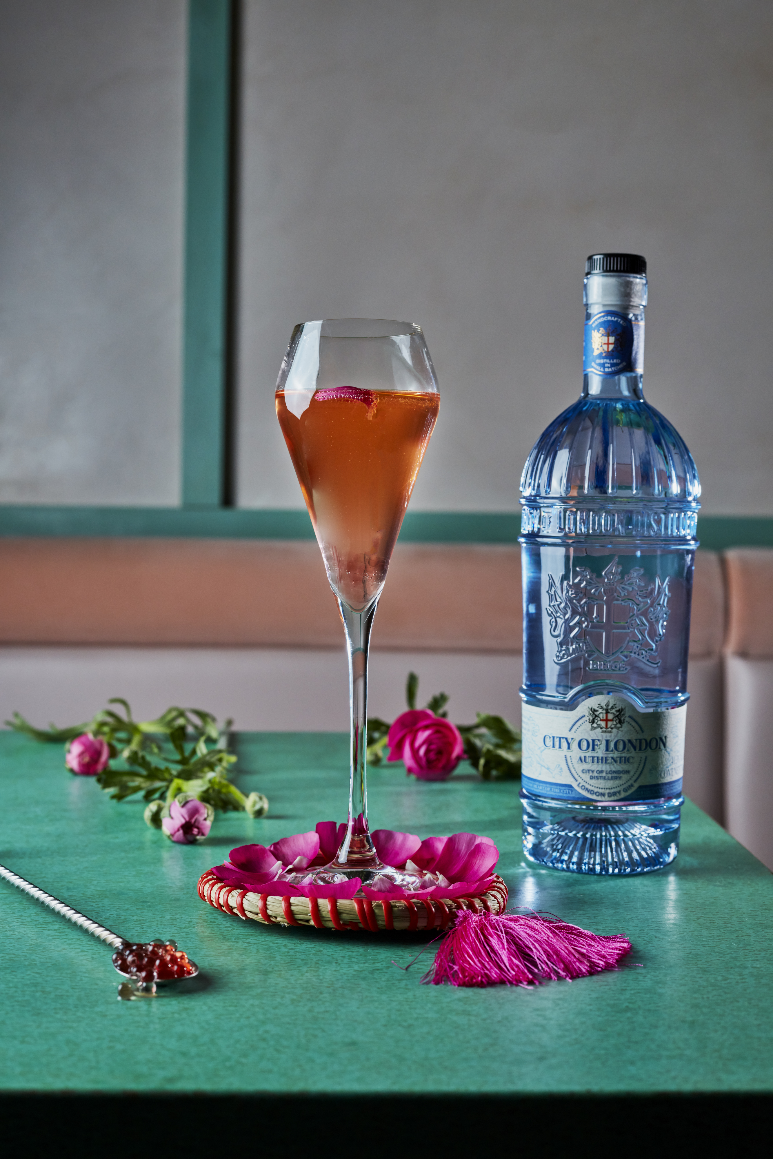 Celebrate RHS Chelsea Flower Show at These London Bars and Restaurants - Floral Cocktails and Tasting Menu at Kanishka (Photo Credit: Jodi Hinds Food Photography)