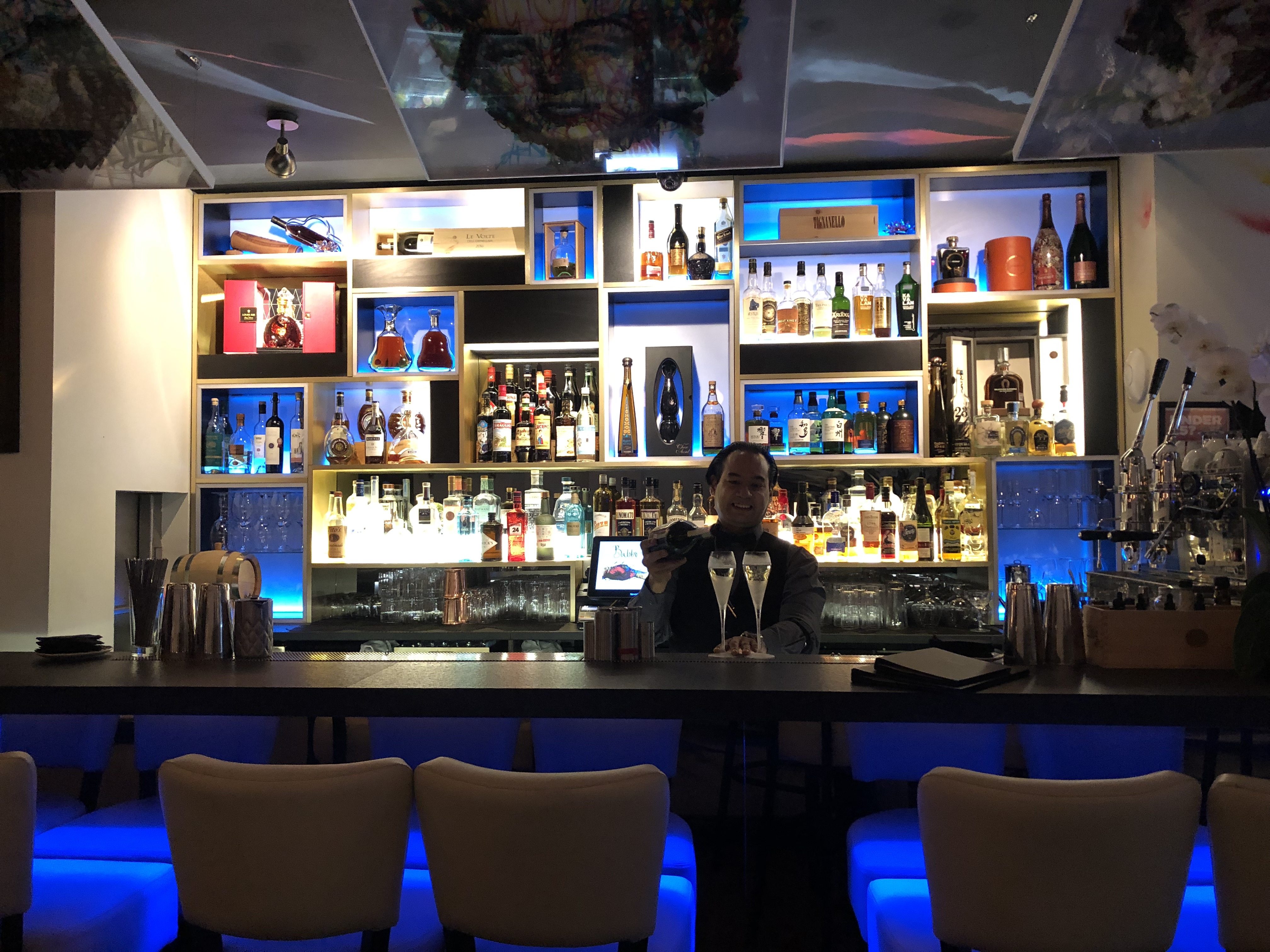 Babbo Mayfair - Cool Vibes & Italian Excellence - Interior Bar