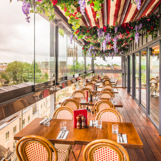 Luxe Bible Reviews The Varsity Hotel & Spa, Cambridge: Six Brasserie
