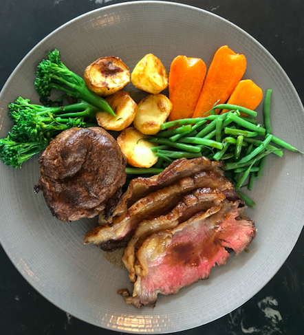 OMG, OTT & SATC all Rolled into One - VIVI Restaurant, Centre Point: Roast Beef (Sunday Brunch Menu)