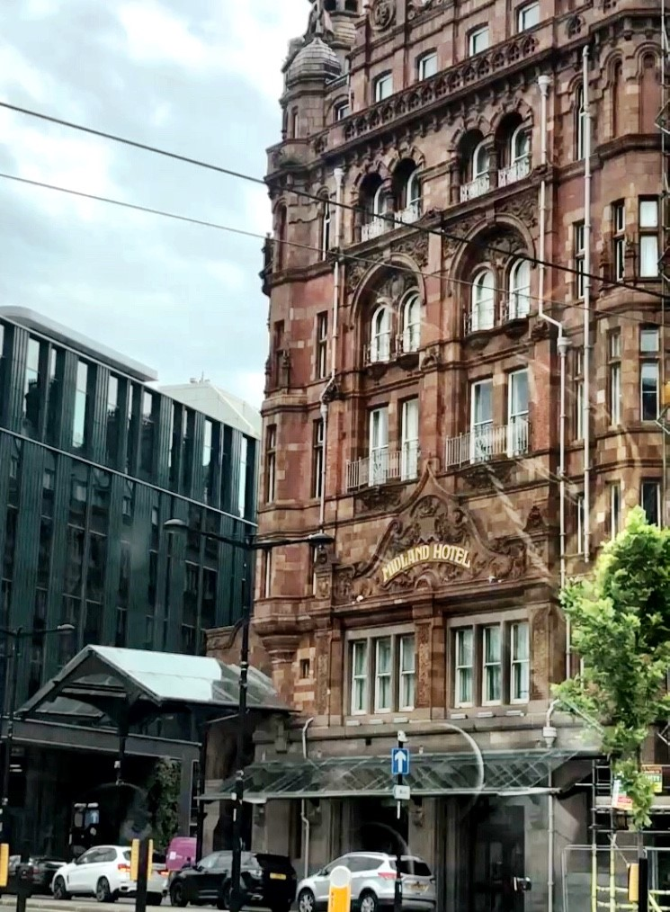 The Midland Hotel Manchester: Exterior