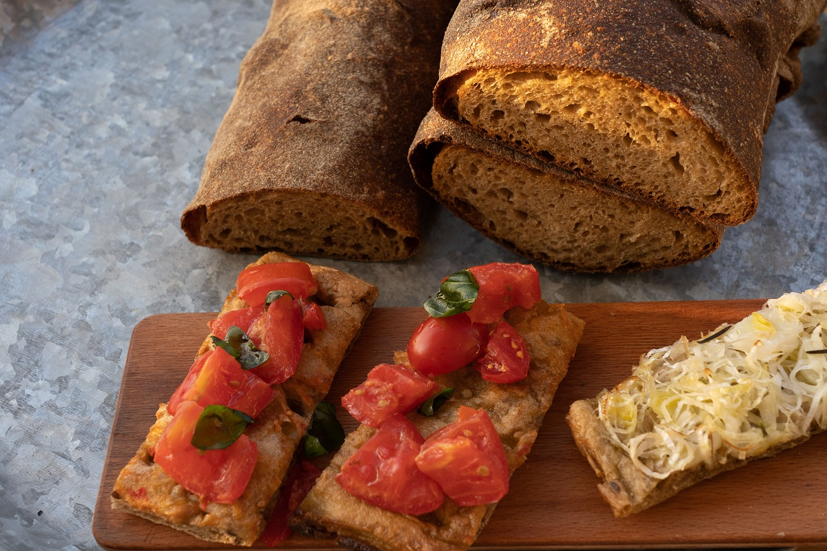 Bottega il Buco: Warming Ibiza up for Winter - Focaccia is made with Sicilian ancient grain flour which is lighter and tastier