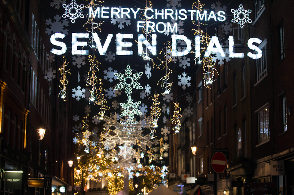 The Luxe List November 2019 - Seven Dials Shopping Evening and Christmas Light Switch on