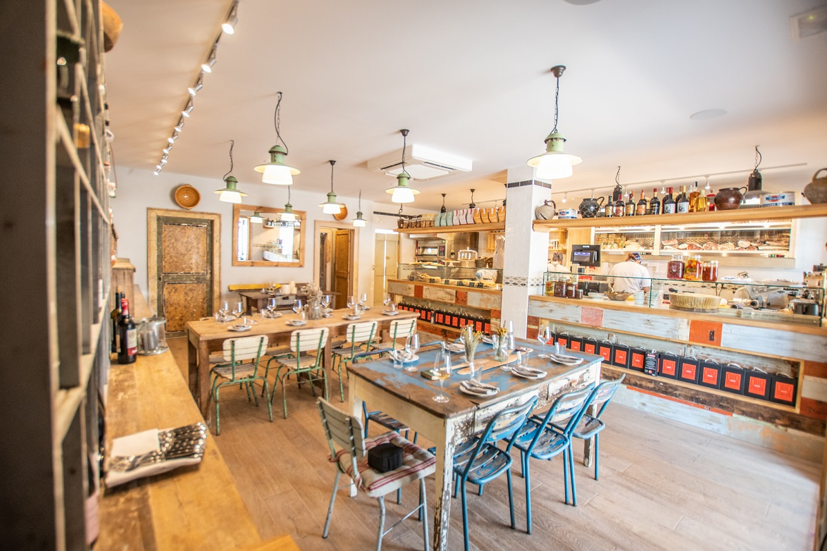 Bottega il Buco: Warming Ibiza up for Winter - Chic, elegant, understated interiors
