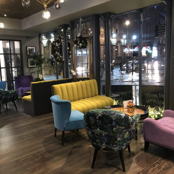 Beautifully Boutique - The Grey Street Hotel, Newcastle: Reception Area