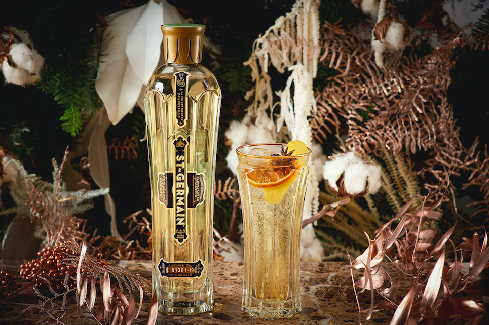 The Luxe List December 2019: Winter in Bloom with St-Germain at Heddon Street Kitchen - St. Germain Spritz
