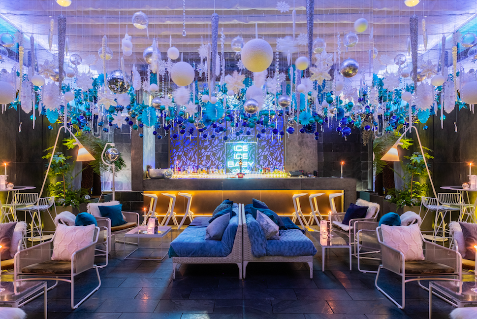 The Luxe List December 2019 - The Ice Ice Baby Secret Garden with CÎROC Vodka at South Place Hotel