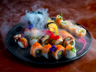 Cool Cocktails & Pan Asian Sharer Plates - The Muddler, Newcastle: Sushi