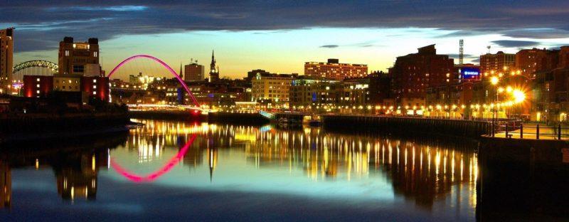 Newcastle Quayside Panoramic (Pixabay Photo Credit: Skeeze)