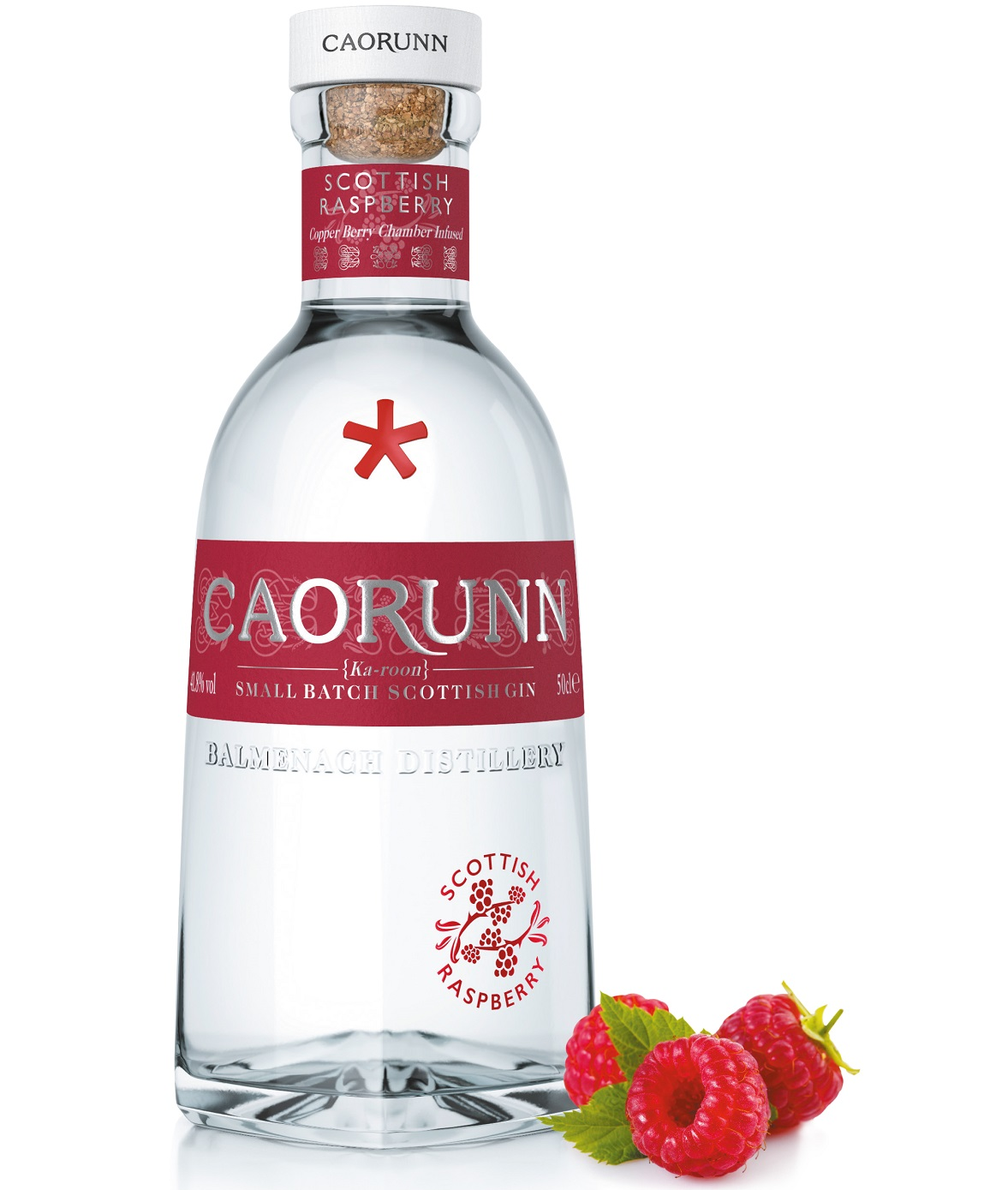 The Coolest Gins of 2020: Caorunn Scottish Raspberry Gin