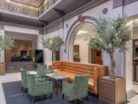 Enjoy A Royal UK Getaway at Oatlands Park Hotel: Hotel Lobby