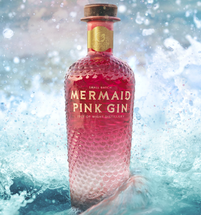 The Coolest Gins of 2020: Mermaid Pink Gin