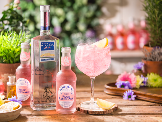 Lockdown Cocktails! Bring The Bar To You! Martin Miller's Gin and Fentimans Rose Garden cocktail