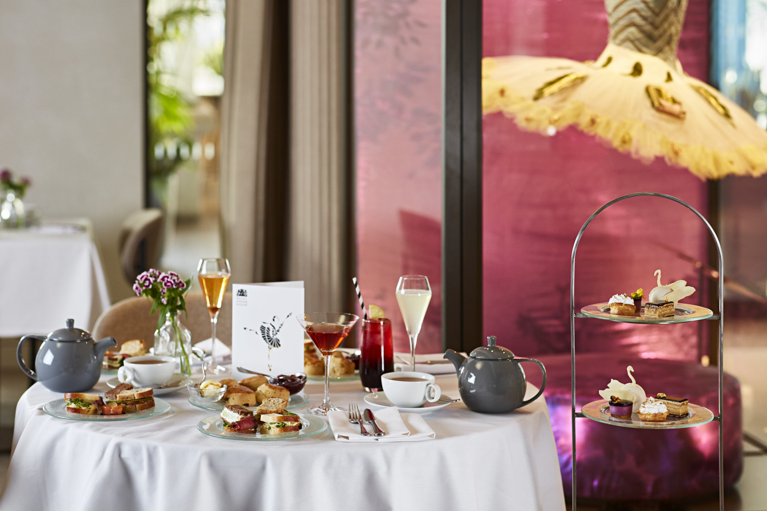 The Luxe List March 2020: Swan Lake Afternoon Tea at Royal Opera House (Photo Credit: Steven Joyce)