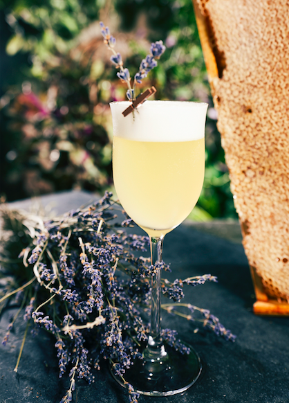 A Luxury Stay (At Home) With Tips From The Grove Hotel: Hornet's Cocktail