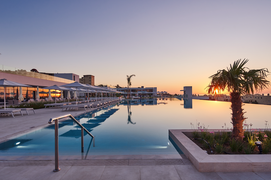 Post Lockdown - Luxurious Learning Experiences in Paradise: Explore Rhodes with Lindos Hotels - Infinity Pool