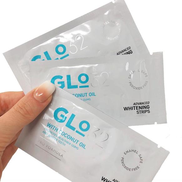Luxury Lockdown Beauty Products: GLO 32 Advanced Teeth Whitening Strips