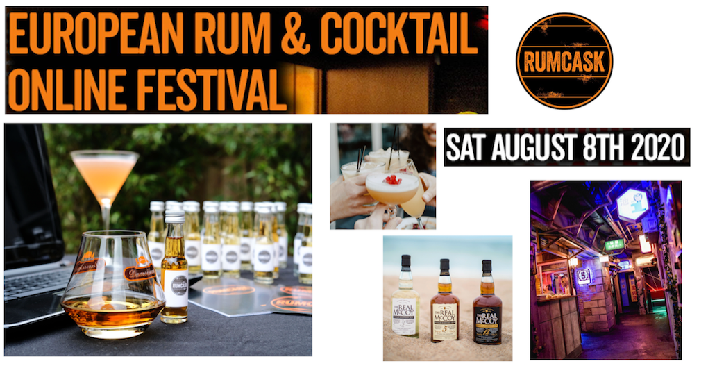 The Luxe List July - Get Your Early Bird Tickets for The European Rum & Cocktail Online Festival