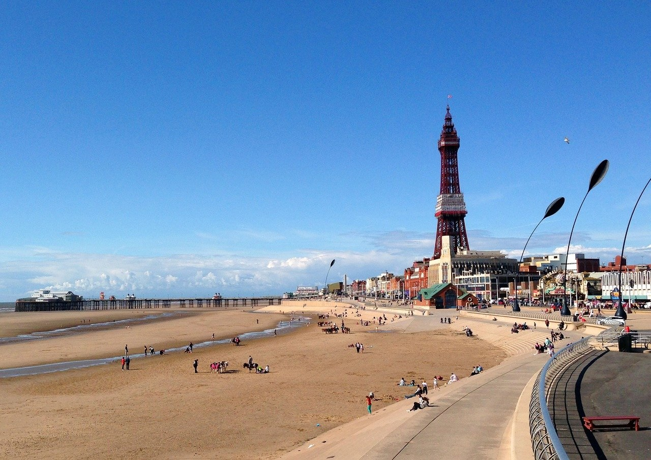 The UK's Top Ten Staycation Destinations: Blackpool in Lancashire (Photo Credit Snap Happy UK)