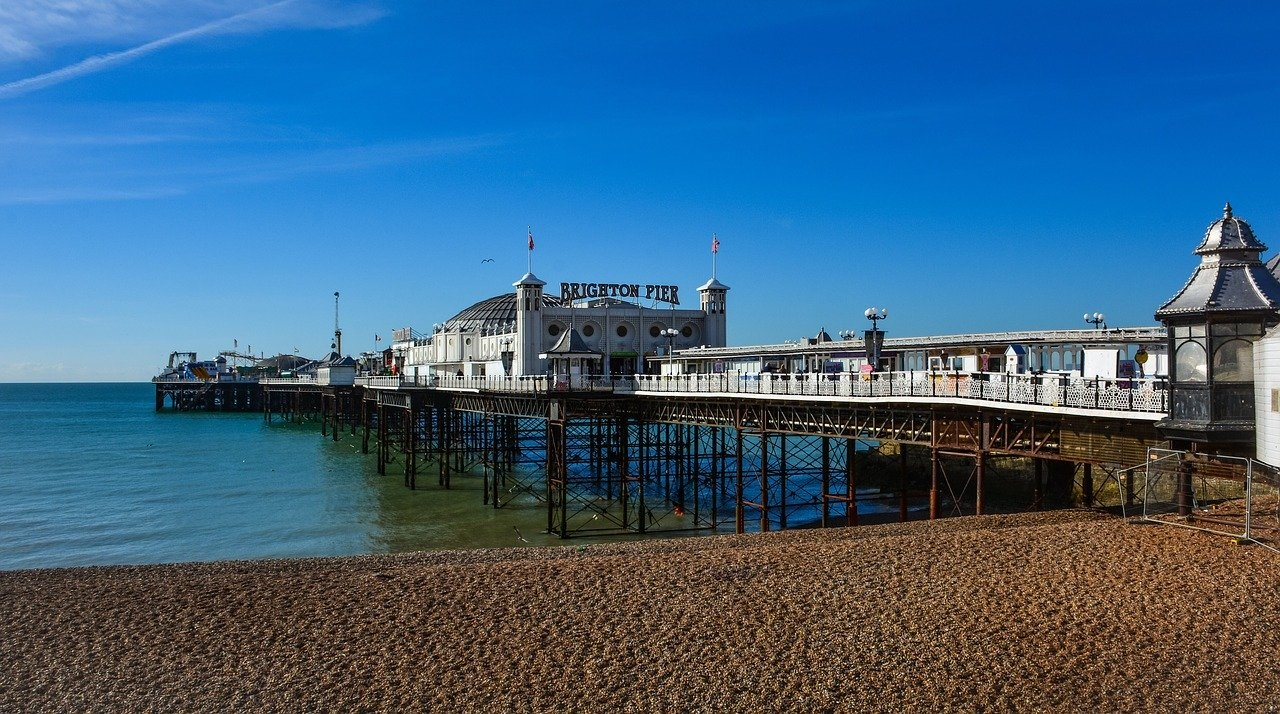 The UK's Top Ten Staycation Destinations: Brighton in East Sussex (Photo Credit CSR_CH - Pixabay)