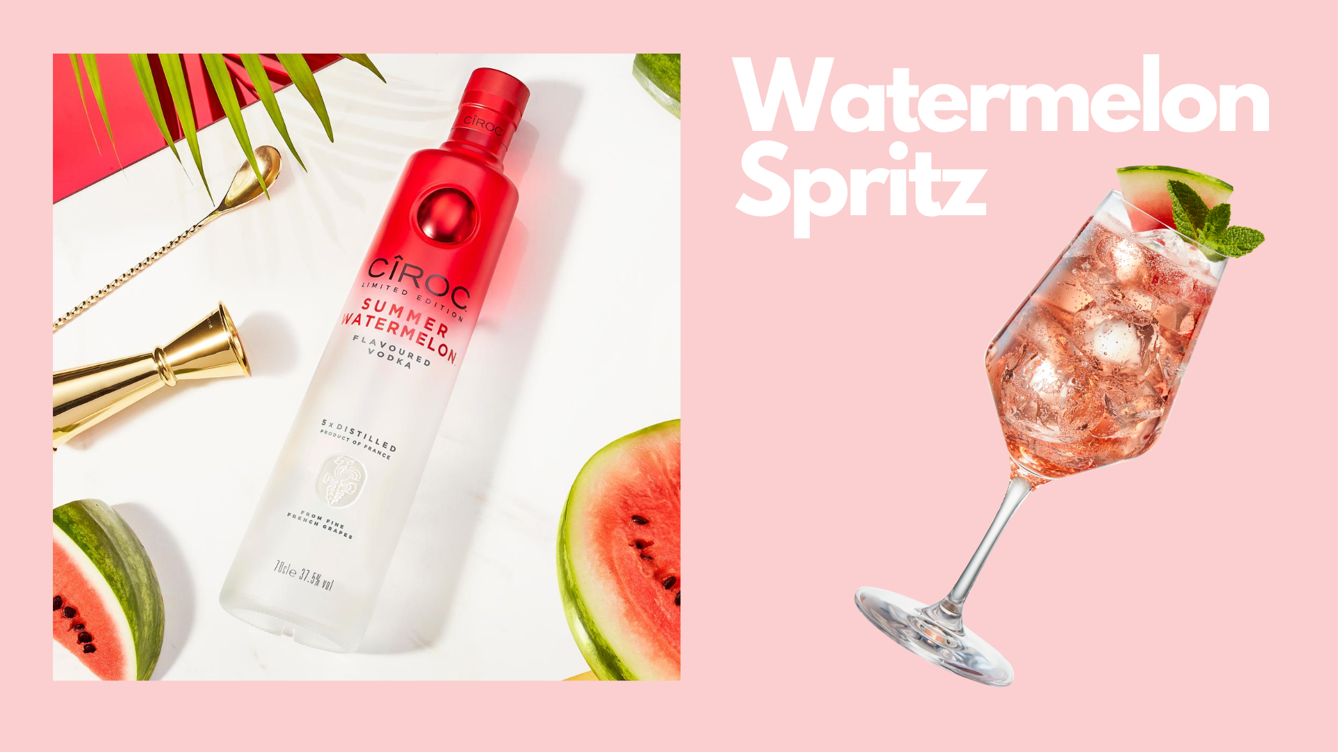CIROC Summer Watermelon - August is Going to be Fruity!
