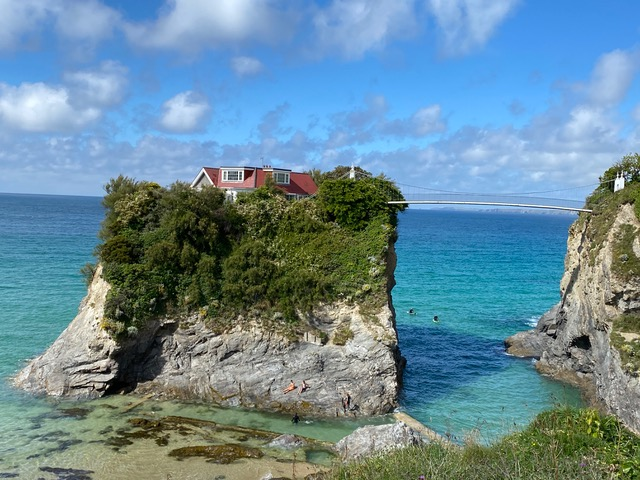 5 of Love Home Swap's Most Incredible UK Summer Staycation Properties - Private Island in Newquay