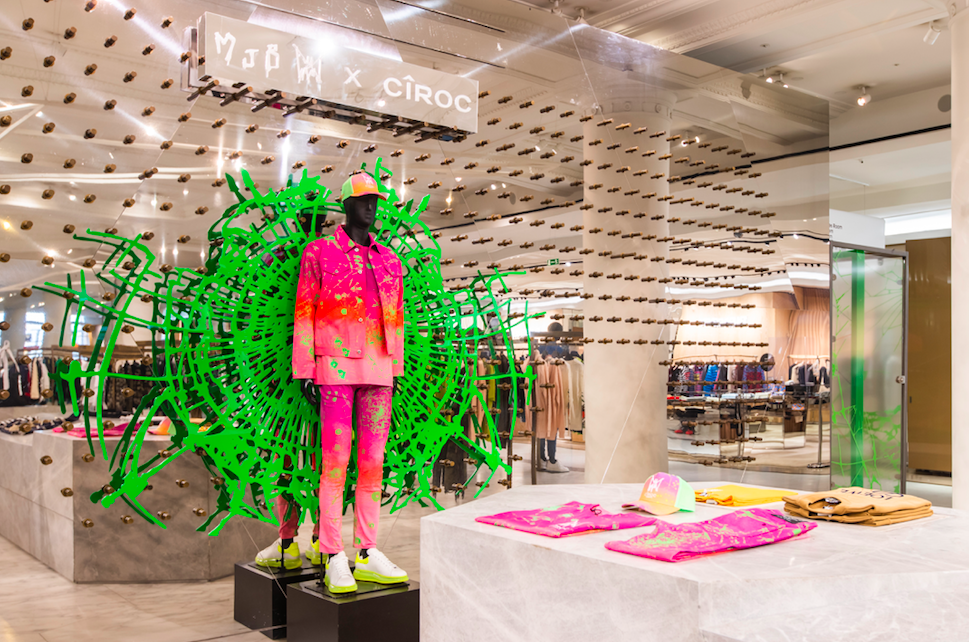 CIROC Summer Watermelon - August is Going to be Fruity!  The Selfridges Pop-Up Installation with Marc Jacques Burton