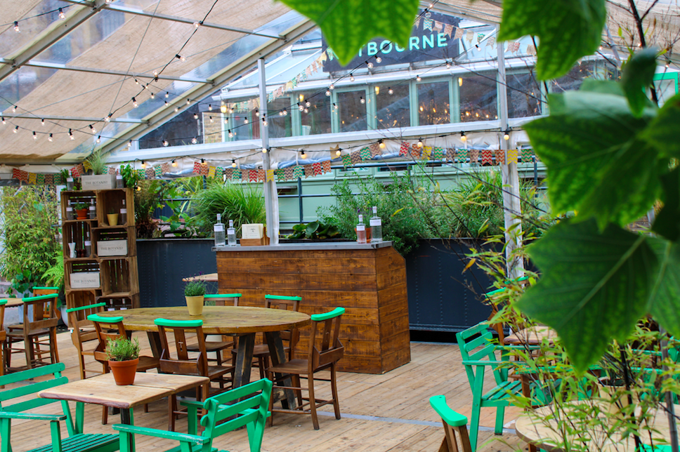 The Luxe List August 2020: Part Two - The Botanist & Tonic Summer Pop-up at Nutbourne Exterior