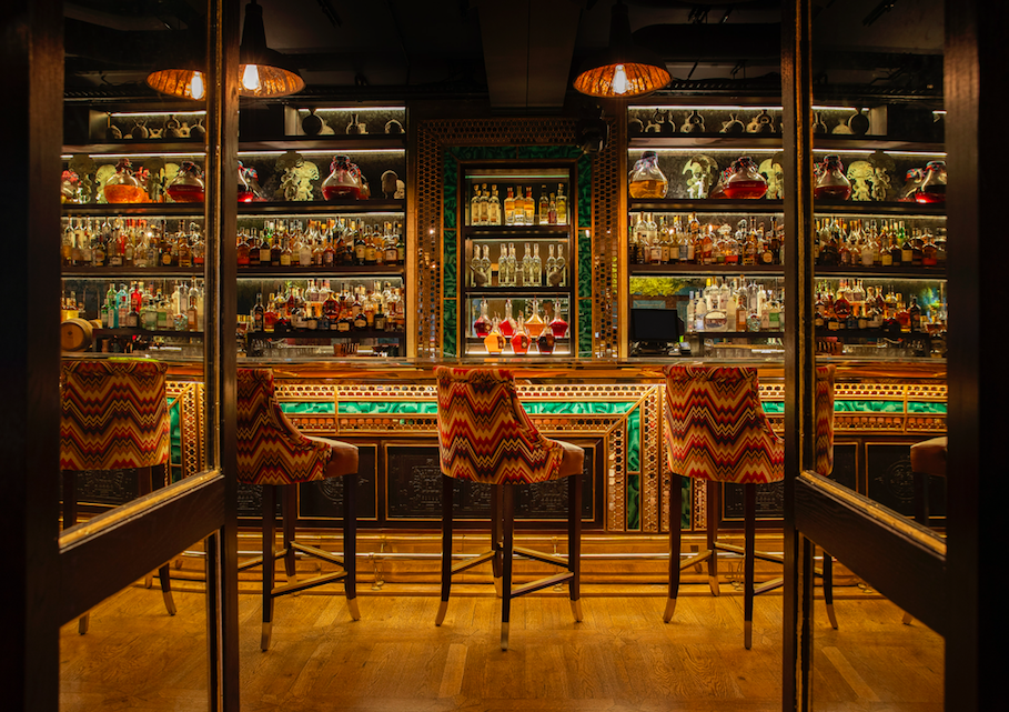 The Pisco Bar at COYA Mayfair