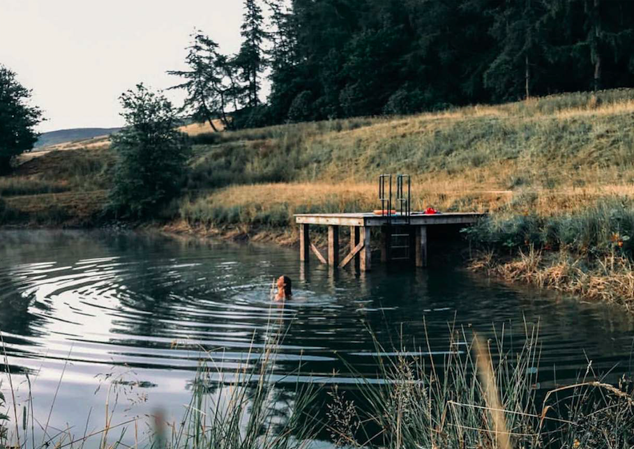 Reconnect and Rewild: Get Back to Nature with Balance Holidays' First UK Retreat  - The programme includes wild swimming