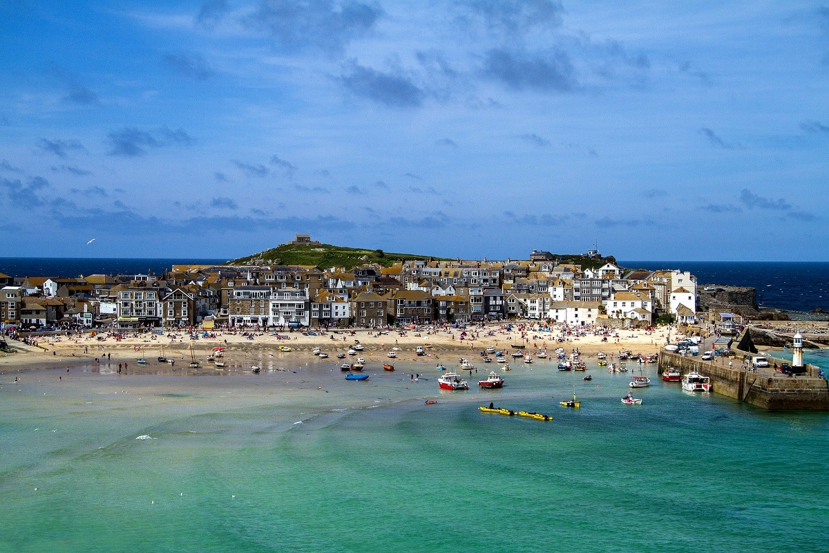 The UK's Top Ten Staycation Destinations: St Ives, Cornwall (Photo Credit Klaus Stebani - Pixabay)