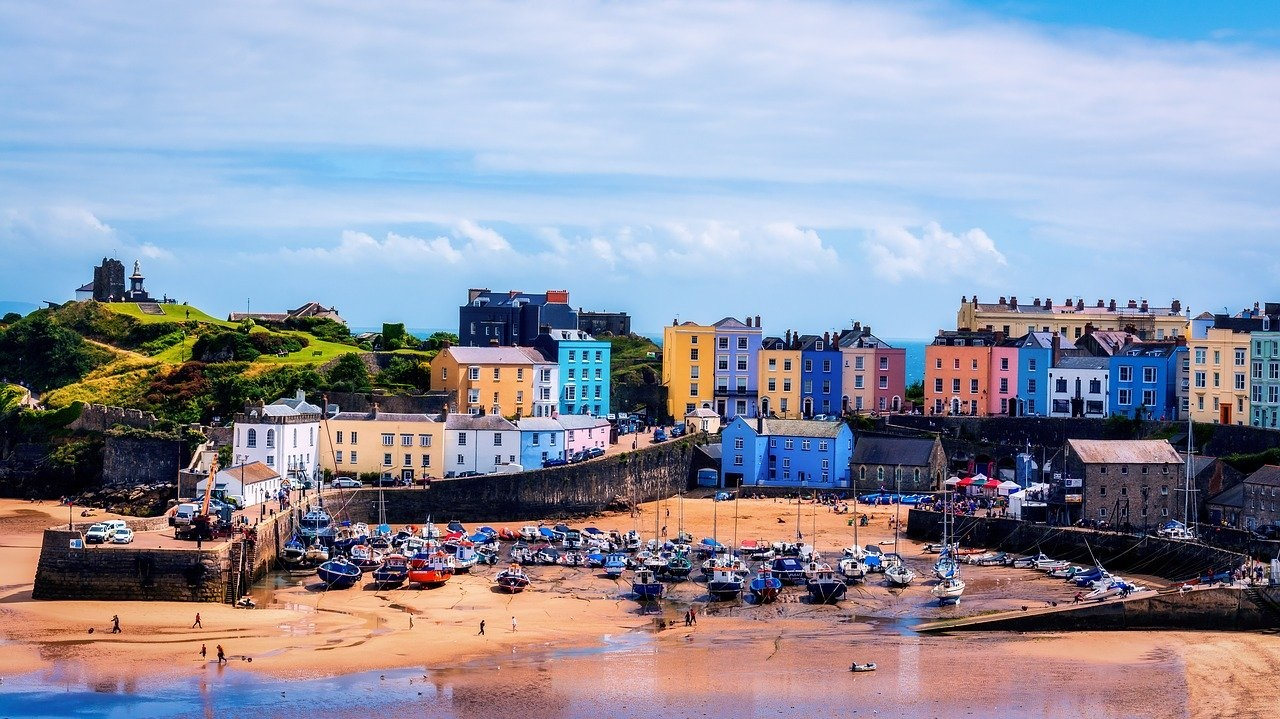 The UK's Top Ten Staycation Destinations: Tenby in Pembrokeshire (Photo Credit Tim Hill