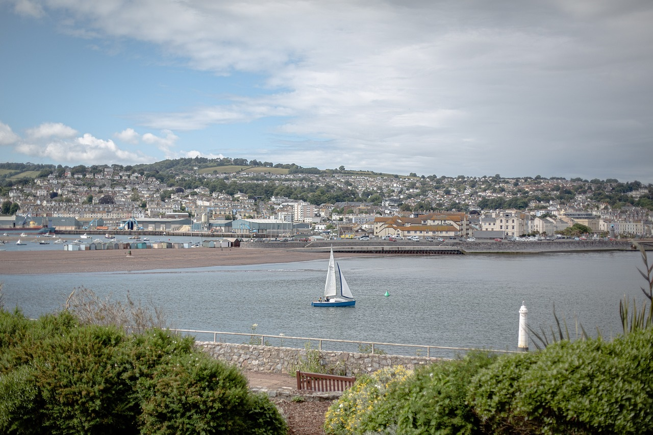 The UK's Top Ten Staycation Destinations: Torquay in Devon (Photo Credit Clarke Designs Photography - Pixabay)