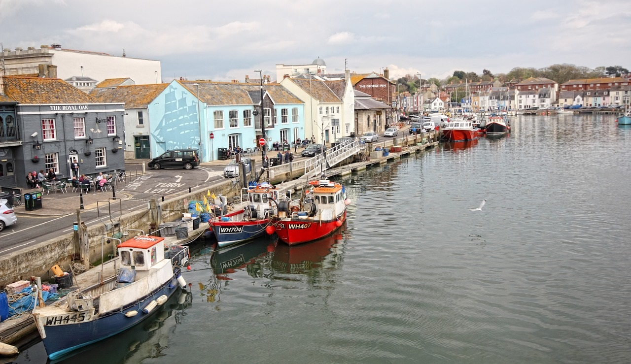 The UK's Top Ten Staycation Destinations: Weymouth in Dorset (Photo Credit Inspired Images - Pixabay)