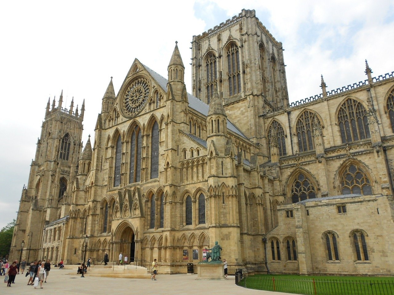 The UK's Top Ten Staycation Destinations: York in Yorkshire - Yorkminster (Photo Credit F E Greene - Pixabay)