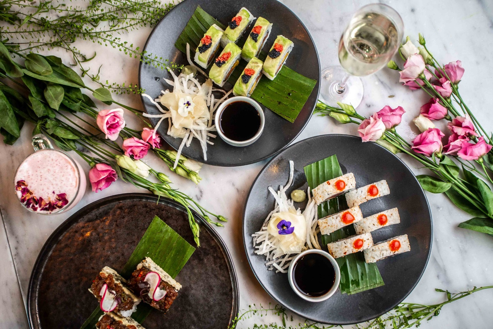 Menagerie Manchester - There's a massive range of dishes with everything from steaks to sushi
