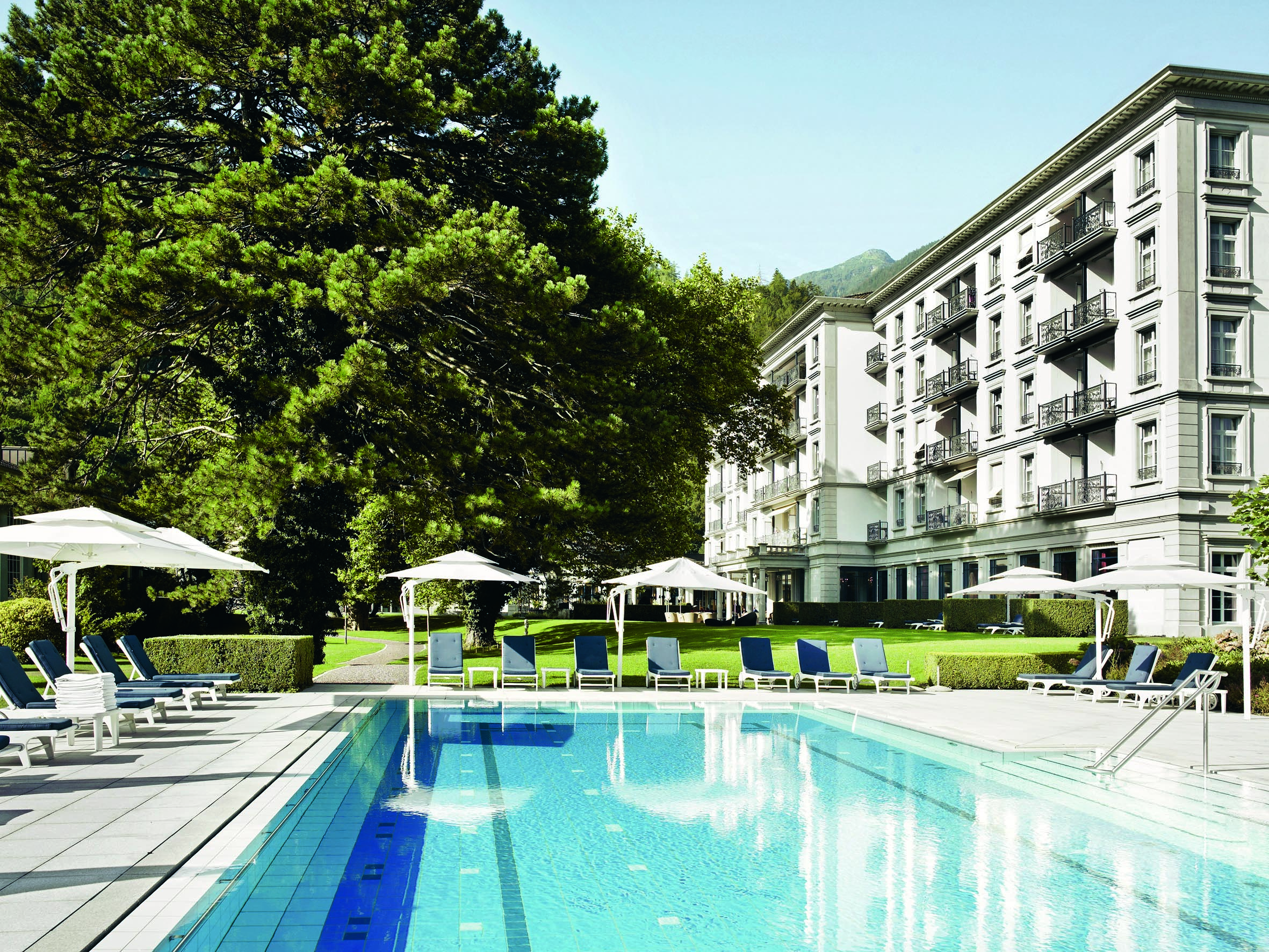 10 Best Social Distancing Wellness Holidays to Boost Immunity - Grand Resort Bad Ragaz, Switzerland