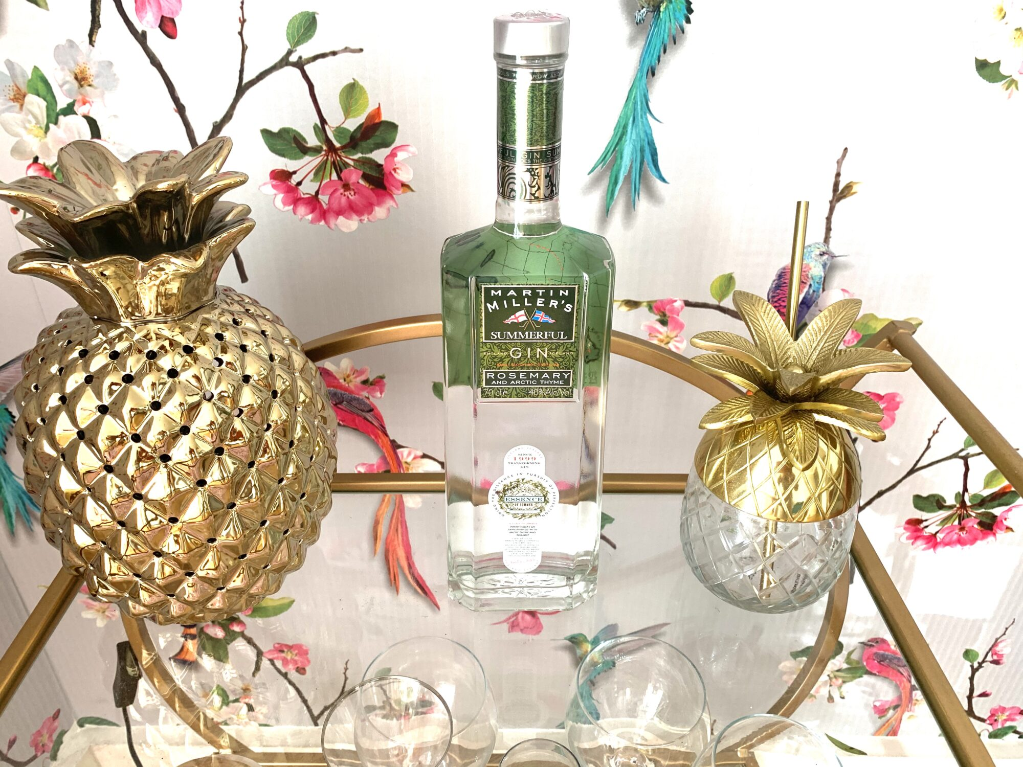 The Coolest Gins of 2020 - Martin Miller's SUMMERFUL Gin bursting with freshness