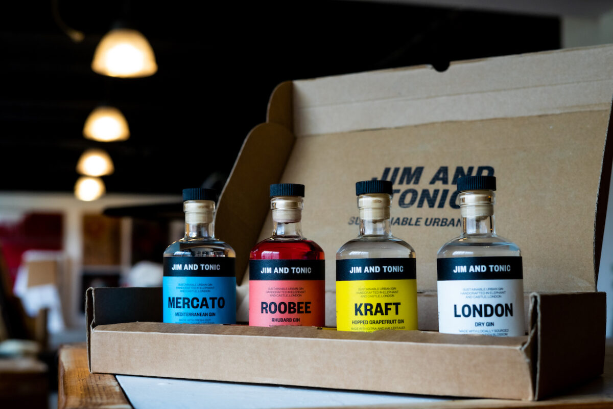 The Coolest Gins of 2021: Urban gins from Jim and Tonic are fresh, delicious AND sustainable. What's not to love?