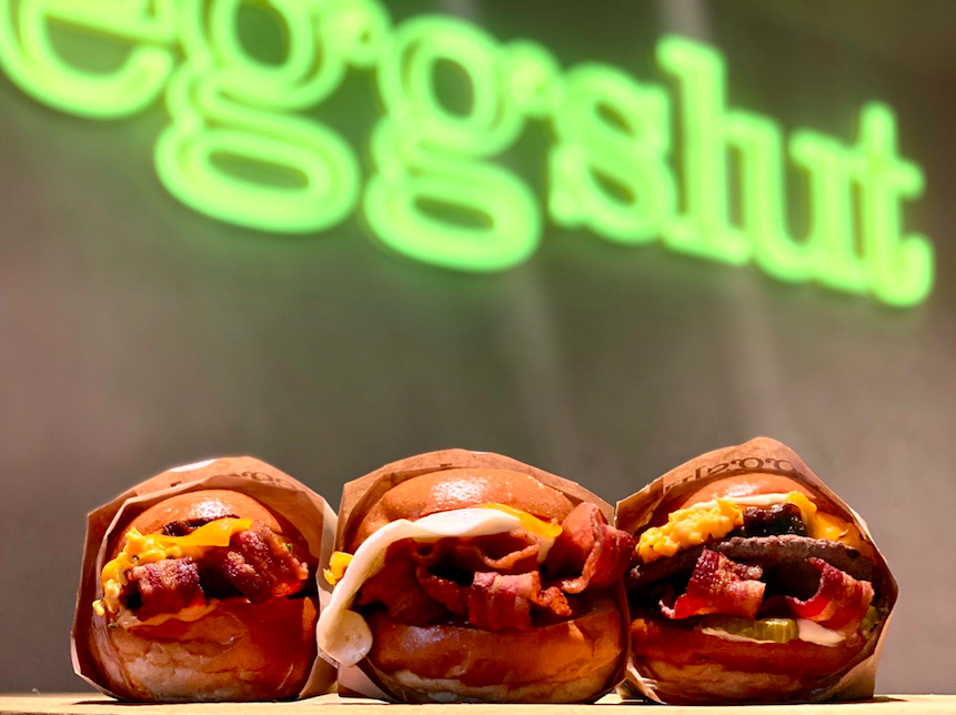 The Luxe List September 2020 - Celebrate International Bacon Day (5th Sept) at Eggslut with their special bacon feast menu