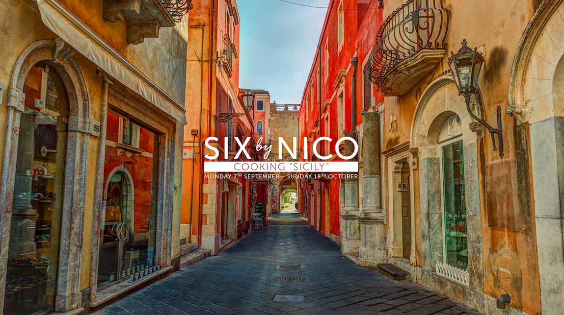 The Sicily Menu at Six By Nico Manchester